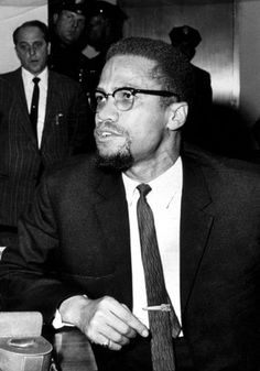 Malcolm X. Even the police were amazed.