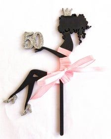 50th Birthday Gifts For Woman, Birthday Cake Girls, Birthday Woman, Birthday Cake Toppers, Silhouette Cake, Girl Silhouette, Personalized Cake Toppers, Custom Cake Toppers, Glitter Cake