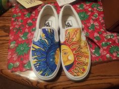 Drew on some vans with sharpies! - Album on Imgur