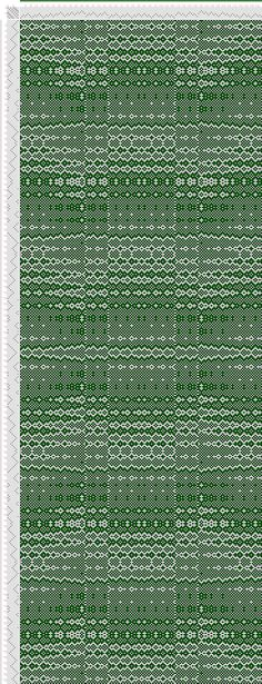 Weaving Draft cw160160, Crackle Design Project, Ralph Griswold, United States, 2004, #13513