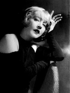 Actress Mae Murray.