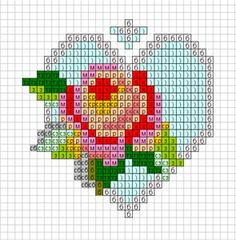 Several schemes for embroidery brooches | biser.info - all about beads and beaded works