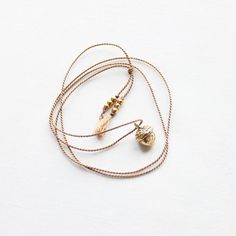 an acorn necklace. swoon! #necklace £19