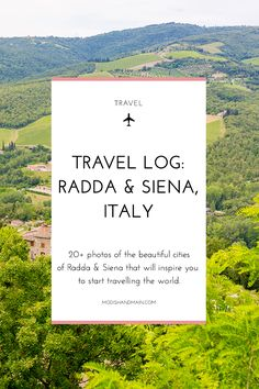 20+ photos of Radda (in the Chianti region) and Seina, Italy that will inspire you to travel. Take a look at all the beautiful photos and get all the details of our trip by clicking here or pin to save for later! — Modish and Main