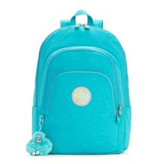 Miles Laptop Backpack - Cool Turquoise | Kipling