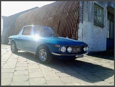 lancia fulvia coupe , shot with mobile phone