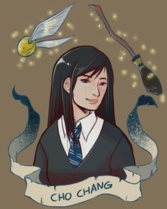 Potter - Cho Chang by Brenna-Ivy Harry Potter Fan Art, Fans D'harry Potter, Mundo Harry Potter, Harry Potter Drawings, Harry Potter Characters, Harry Potter Universal, Harry Potter World, Cho Chang, Hogwarts