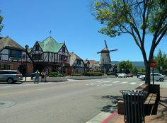 Beautiful Solvang. Dutch Disneyland!