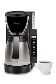 "Capresso ""CM300 Thermal"" Black Coffee Maker"