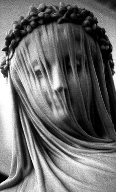 ☫ A Veiled Tale ☫ wedding, artistic and couture veil inspiration - carved from marble