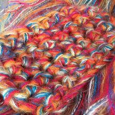 Multi Yarn Artyarn Wool Mohair Bulky Yarn by LittleLancashire Weaving, Wool, Knitting, Unique Jewelry, Handmade Gifts, Crochet, Etsy, Vintage, Closure Weave
