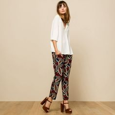 Pantalon large NAVETTE ANNA STUDIO
