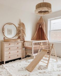 Nursery Paint Colors, Nursery Layout, Wood Nursery, Baby Nursery Decor, Baby Bedroom, Baby Decor, Nursery Room, Girl Nursery, Baby Room Neutral