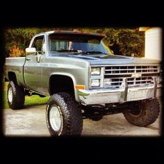 old Chevy truck!