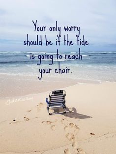 From days at the beach to nights under the stars, summer is the best time of year! Here are some cute and funny summer quotes to hold us over until summer. Playa Beach, Beach Bum, Ocean Beach, Sunny Beach, Good Quotes, Beach Quotes And Sayings Inspiration, Quotes Quotes, Don't Worry Quotes, Qoutes