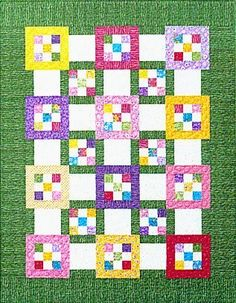 Tile Tango – perfect spring-time quilt!
