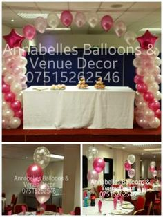 Annabelles Balloons & Venue Decor is a Wedding Supplier of Table Decorations, Venue Decorations, Favours & Gifts, Children's Entertainment. Are you planning your Big Day and looking for wedding items, products or services? Why not head over to MyWeddingContacts.co.uk and take a look at Annabelles Balloons & Venue Decor's profile page to see what they have to offer. Helping make your wedding day into a truly Amazing Day. Oh, and good luck and best wishes with your Wedding.