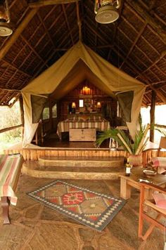 Tortilis Camp - Amboseli National Park, Kenya