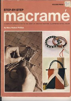 Great Macrame book!  I still have it.
