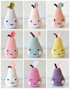 Crochet pear - Pirum Parum - CUSTOM SPOT