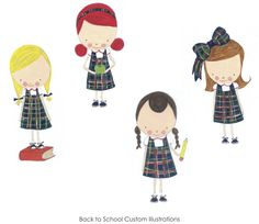 Back to School Illustrations by Mayi Carles   Heartmade Blog