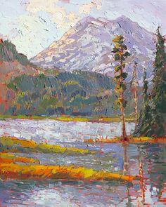 Les-tableaux-style-impressionnistes-des-parcs-naturels-de-Erin-Hanson-9