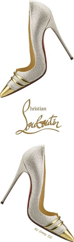 What could possibly be better than wearing these on your wedding! #christianlouboutinshoes
