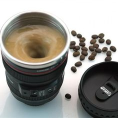 Creative Camera Lens Emulation Mug Cup 400ml