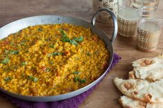 A fragrant dal for those who love lentils and spice.