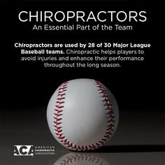 ⚾️ Chiropractic is an important part of keeping athletes . ⚾️ Chiropractic is an important part of keeping athletes … Happy Opening - Chiropractic Assistant, Chiropractic Humor, Chiropractic Therapy, Chiropractic Office, Acupressure, Acupuncture, Physical Therapy Humor, Chiropractic Benefits, Mlb