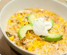 Chicken Lime Rice Soup