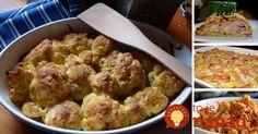 Zbierka 11 najlepších receptov z karfiolu.