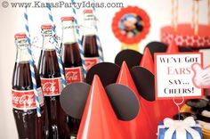 Mickey Mouse themed birthday party planning ideas supplies ...