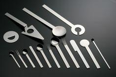 cunzet: TI-1 Cutlery by Takenobu Igarashi In Takenobu Igarashi's design ancient craftsmanship and modern designblend in a natural way. Simp...
