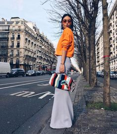 "7,210 Likes, 48 Comments - Karen Wazen Bakhazi (@karenwazenb) on Instagram: ""Bisous A vous  #pfw #day3 - My outfit to the @Chloe show make sure to catch some of it on my…"""