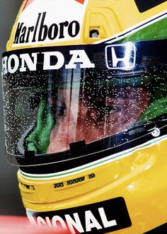 The best in the rain! - Ayrton Senna