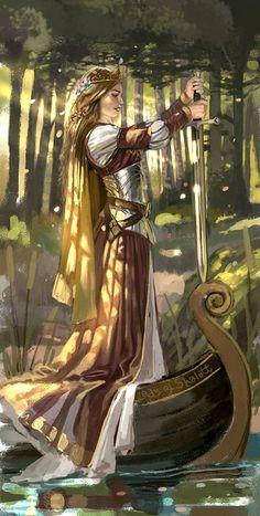 artoficeandfire:    Joanna Lannister  lorliaswood:    Ferait un chouette costume médiéval!    amethyste:    Lady of Shallot by AlyFell