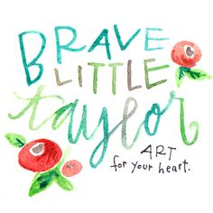 2016 One Word Art now in stock!! Custom commissions List January 28.    Brave Little Taylor creates meaningful artwork as gifts for