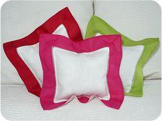 Bright Border Mini Pillows