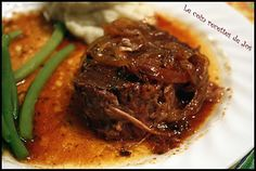 Roti de palette au ketchup Ketchup, Beef Recipes, Cooking Recipes, Yummy Recipes, Crockpot, Slow Cooker, Steak, Pizza, Yummy Food