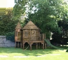 Children S Playhouses On Pinterest Wooden Playhouse