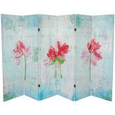 "Found it at Wayfair - 63"" x 94.5"" Spring Morning 6 Panel Room Divider"