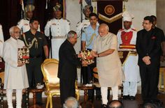 President of India receives first copies of the books 'Thoughts and Reflections', 'Winged Wonders of Rashtrapati Bhavan' & 'Indradhanush'