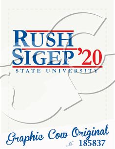 Rush reagan style design #grafcow