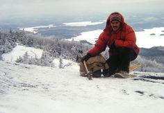 Ampersand Mt, Adirondacks, NY, apr 9, 1978.