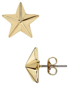 NEW Rebecca Minkoff Gold Star Studs - Earrings. Get the lowest price on NEW Rebecca Minkoff Gold Star Studs - Earrings and other fabulous designer clothing and accessories! Shop Tradesy now