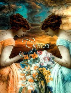 gémeaux par Hannah Blue