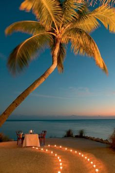 Romantic destinations #Beach #Sunset