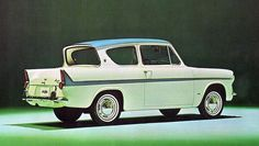 Ford Anglia - my first car, lovely memories.