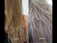 Matizando o cabelo com menos de R$ 5,00! - YouTube